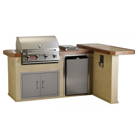 Outdoor Living Outdoor Kitchen L Shaped Kitchen Island